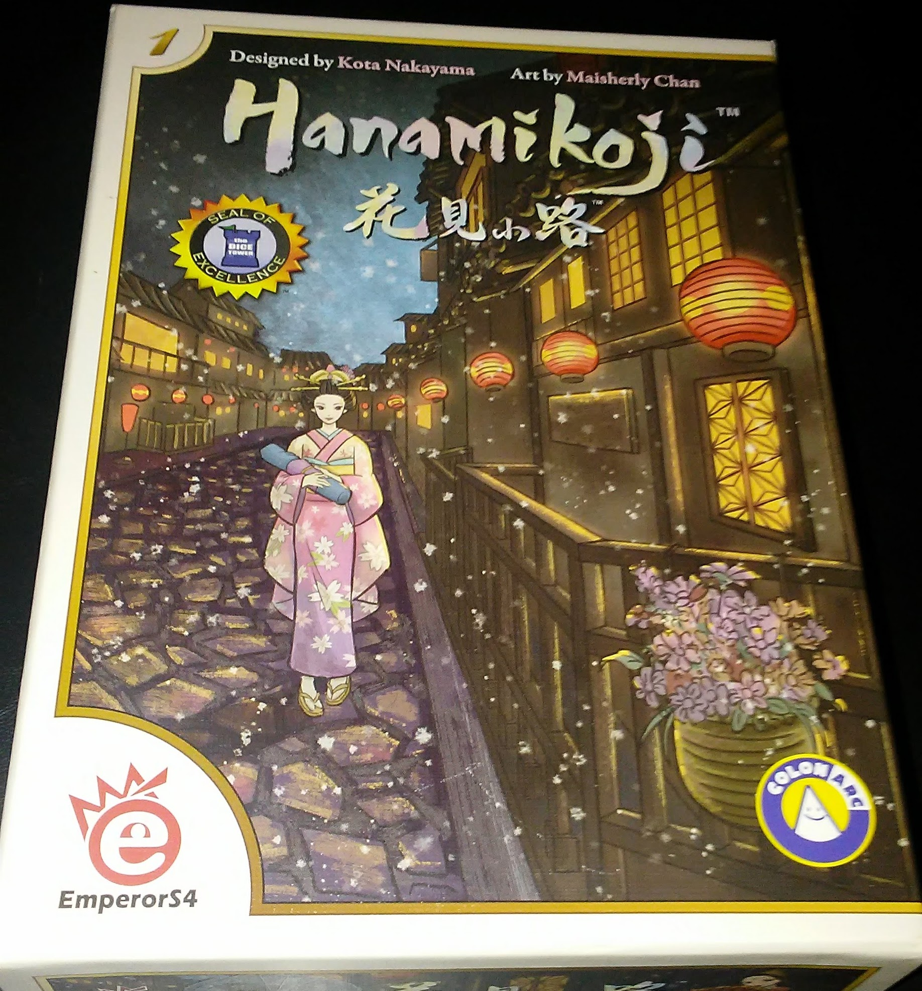 Gen Con Preview (Kind of): Hanamikoji – Open Seat Gaming
